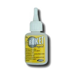ROKET RAPID, cyanoacrylat lim, medium 20g