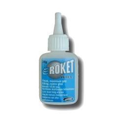 ROKET MAX, cyanoacrylat lim, tjockt 20g