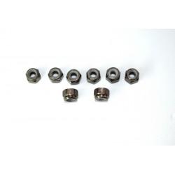 Aluminum nylon nut M3 (8) ATC 2.4 RTR/BL