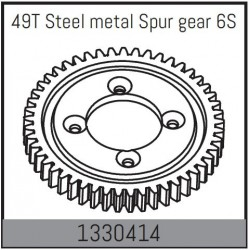 49T Steel Spur Gear
