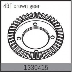 43T crown gear