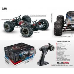 Absima 1:16 4WD High Speed Monster Truck SPIRIT 2,4GHz Black/Red