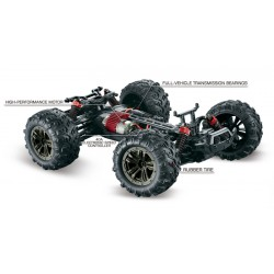 Absima 1:16 4WD High Speed Sand Buggy X TRUCK 2,4GHz Black/Red