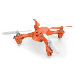 Hubsan H108 Quadrocopter 4 kan LED, orange