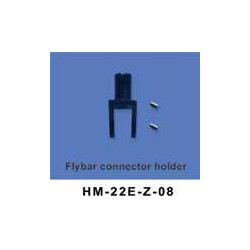 Flybar connector holder 6ch helikopter