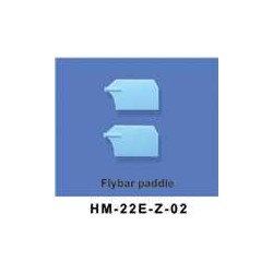 Flybar paddle 6ch helikopter