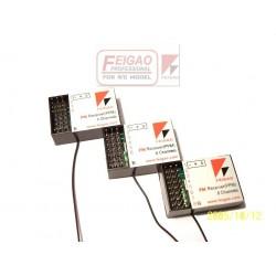 Feigao 6-kanals micro FM-mottagare 35Mhz
