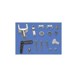 Alumiunium tail gear holder set - Z400