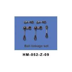 Dragonfly no52 Ball linkage ring set