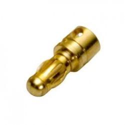 Guldkontakt Hane 3,5mm /st