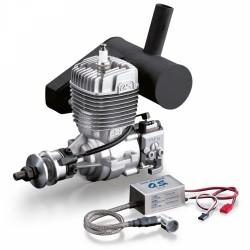 GT22 22cc 2-Takts Bensinmotor med Ljuddämpare