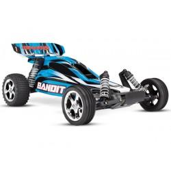 Bandit 2WD 1/10 RTR TQ Blå - Utan Batt/Ladd