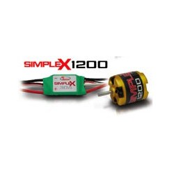 RCS Simplex 1200 BLM / ESC combo
