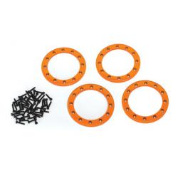 """Beadlock Ringar 2.2"""" Alu Orange (4)"""