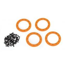 """Beadlock Ringar 1.9"""" Alu Orange (4)"""