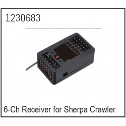 6-Channel Receiver for Sherpa Crawler