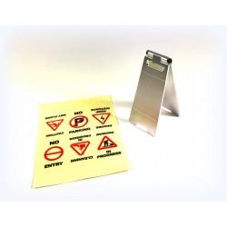 1/10 Warning Display incl. Sticker Sheet