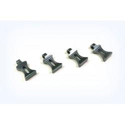 Alu. Body Clip Holder, gun metal (4)