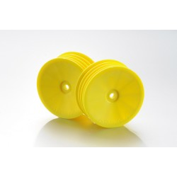 1:10 Off-Road 2WD racing front rims yellow (2)