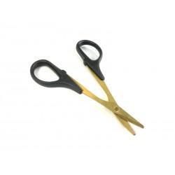 """Lexan scissor """"Titanium coted"""""""