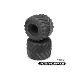"""Renegades - Monster Truck tire - gold compound (Fits - 3377 2.6 x 3.6"""" MT wheel)"""