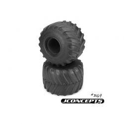 "Firestorm - Monster Truck tire - blue compound (Fits - 3377 2.6 x 3.6"" MT wheel)"