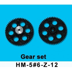 Dragonfly Genius 56 Gear set