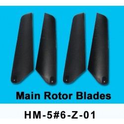 Dragonfly Genius 56 Main Rotor Blades