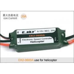 E-sky Fartreglage 20A för helikopter