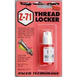 Skruvlås 6ml röd ZAP Z-71 (Permanent)
