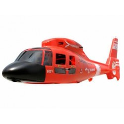 E-sky Dauphin Fuselage (red)