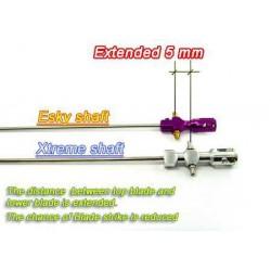 Xtreme Lama - Inneraxel Aluminium V2 förlängd 8 mm