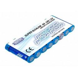 TechToys Alkaline Batteri 1,5V AA/LR6 8-pack