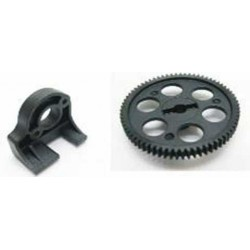 HBX Rocket 1:10 Spur Gear 69T + Motor mount