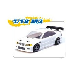 BMW M3 lackerad 1:18
