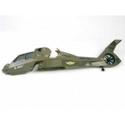 E-sky co-Comanche kropp Mörk grön