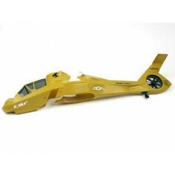 E-sky co-Comanche kropp Brun