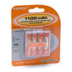 Ack 1,2V 1100mAh AAA 4-pack