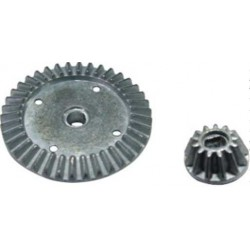 HBX 1:10 Xmissile F/R Diff main gear+diff bevel pinion