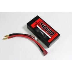 Absima LiPo Shorty Pack 7.4V-90C 4000 Hardcase (Tubes)