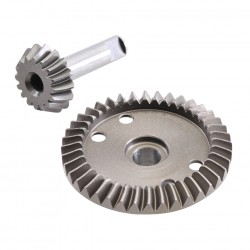 Steel Gear for Gear Differential 16T/40T 2WD/4WD/SC-Trucks