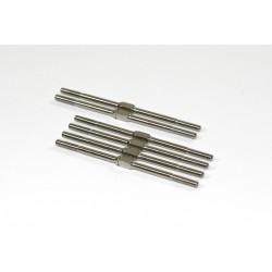 Turnbuckles 3x68/3x72 (6 pcs) 2WD Comp. Truggy/SCTruck