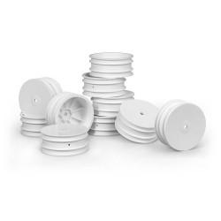 Fälg fram Aerodisk vit 10 pack