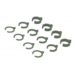 Damper Parts Set 1mm/2mm/4mm 1:10 (12)