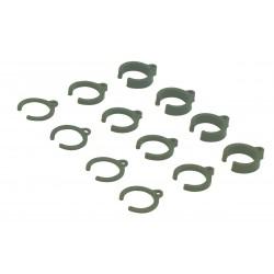 Damper Parts Set 1mm/2mm/4mm 1:10 (12)