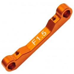 Alu Suspension arm mount front R1.5 Comp. Onroad
