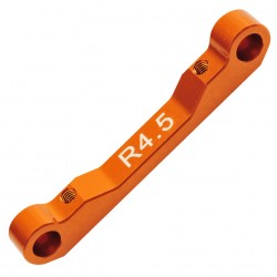 Alu Suspension arm mount rear R4.5 Comp. Onroad