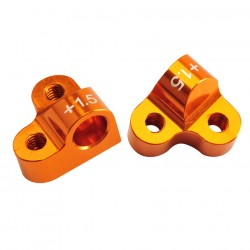 Alu Suspension arm mount 2-piece l/r f/r1.5 Comp. Onroad