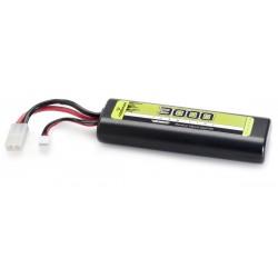 LiPo 7.4V-25C 3000 Hardcase (Tam)