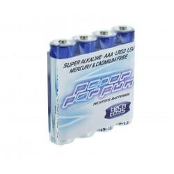 TechToys Alkaline Batteri 1,5V AAA/LR03 4-pack